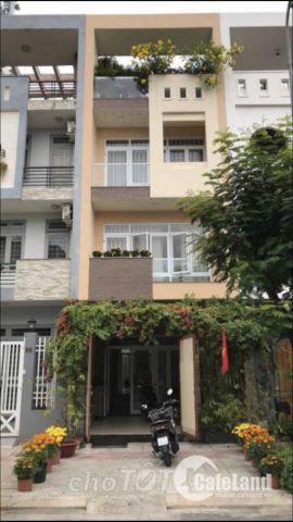 Bán nhà 3 lầu mặt tiền đường số khu dân cư ven sông Phường Tân Phong Q7