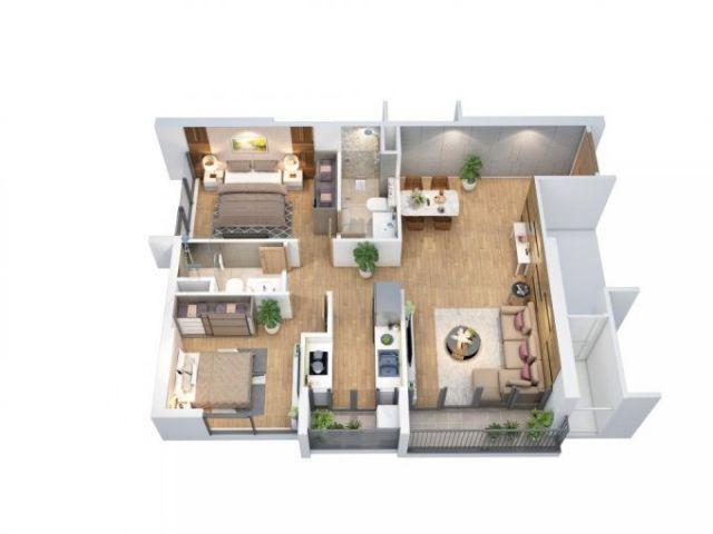 Căn hộ cao cấp Q7 - Đầy đủ nội thất - giá cực rẻ - tỷ suất sinh lời cao - thanh khoản cực tốt