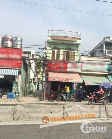 Bán nhà 1 lầu mặt tiền tiện kinh doanh đường Huỳnh Tấn Phát, P. Phú Thuận, Quận 7