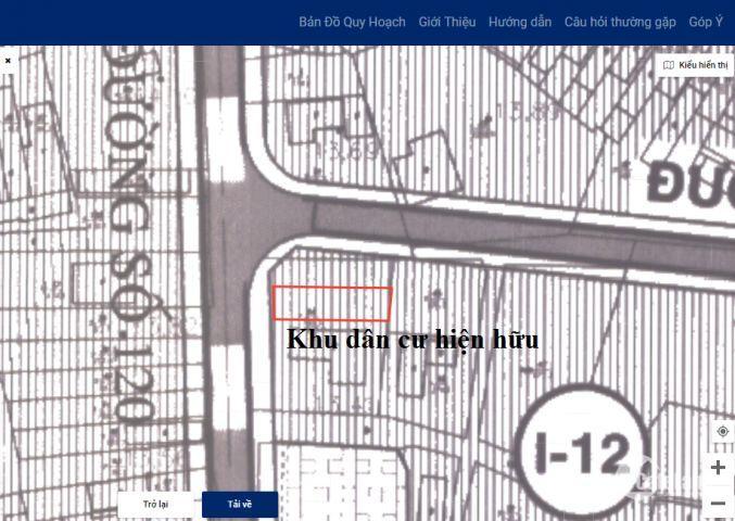 Đất bán 128m2 ngay MT 120 Tân Phú, quận9