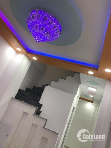 Nhà 2 lầu 1 trệt ,4pn,hẻm 82 đường 138, q9