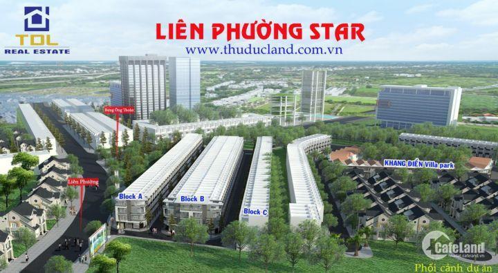 Bán biệt thự Quận 9, Bán biệt thự Liên Phường Star, Bán biệt thự gần vòng xoay Phú Hữu Quận 9