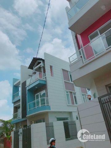 bán nhà 1 trệt 2 lầu, nhà có sh mt đường liên khu 4-5