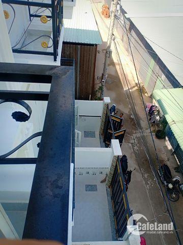 Bán nhà sau MM Hiệp Phú Q12, 1 trệt 2 lầu 3 pn, thiết kế phong cách châu âu, dtsd 105m2