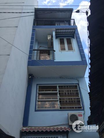 Nhà mới 4 tầng BTCT Phan Đình Phùng Phú Nhuận chỉ 2.3 tỷ