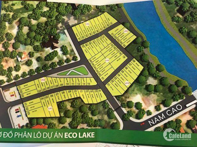 Đất mặt tiền đường QL 1A dự án Eco Lake đoạn qua TP Huế giá 490 triệu