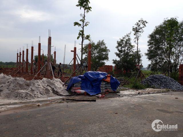 Bán lô đất chính chủ không qua trung gian môi giới gần khu công nghiệp sổ hồng,thổ cư giá 350 triệu