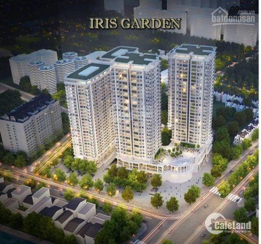 Chung cư cao cấp Iris garden _rừng trong phố_ứng dụng tiêu chuẩn về chăm sóc sức khỏe,y tế
