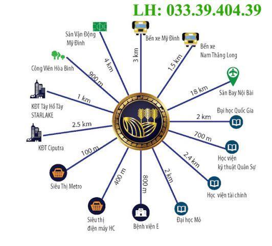 Chung cư thương mại 43 Phạm Văn Đồng ở Bắc Từ Liêm. Giá từ 23 triệu/m2