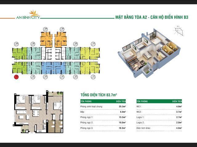 Chính chủ căn góc An Bình City cần bán gấp, ban công Nam view quảng trường, view hồ,giá rẻ. Lh 082.343.3838