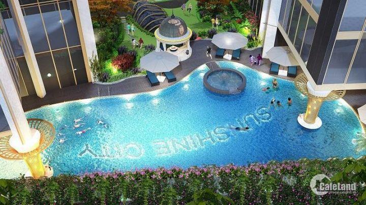 Hot! Chung cư căn hộ Sunshine city giá chỉ từ 2,9ty nội thất cao cấp ITALY