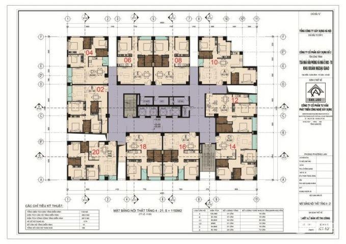 Bán chung cư cao cấp N03T8 Ngoại Giao Đoàn – Bắc Từ Liêm – Hà Nội