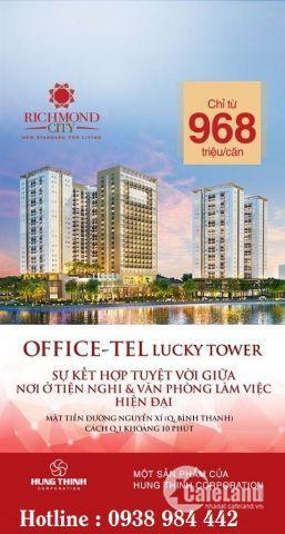 Chính chủ cần bán căn hộ Officetel Richmond City Bình Thạnh