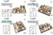 căn hộ 74m2 2PN giá 21tr/m2 hướng Bắc CTL - dương thị giang