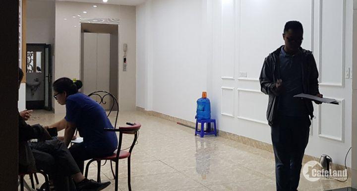 Cho thuê nhà Hoàng Quốc Việt 74m2x5 tầng 17tr/tháng