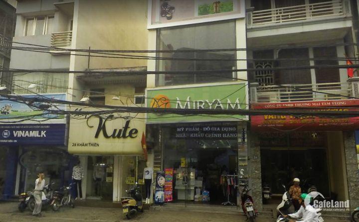 Cho thuê nhà mặt tiền 4M Khâm Thiên, Quận Đống Đa giá 45 triệu