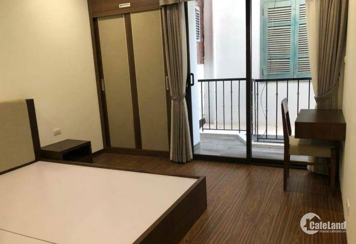 Cho thuê nhà Vĩnh Tuy 50m2x6 tầng 30tr/tháng