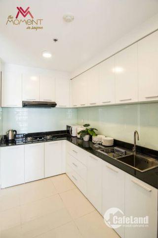 Cho thuê căn hộ River Gate Q4 view sông, Full nội thất giá 13 triệu/tháng. LH: 0908268880