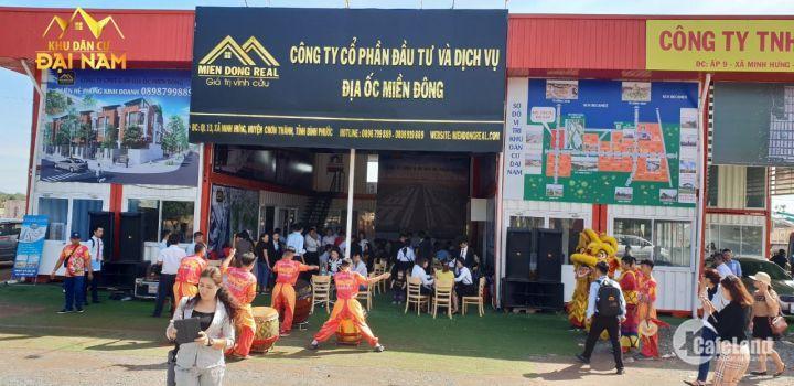 Chính thức mở bán 2 Lốc đối diện trung tâm thương mại tại KDC Đại Nam