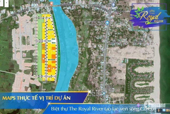đất nên biệt thự sông cổ cò sắp mở bán ngay 23-12 nhanh tay đặt chổ cho mình có vị tri đep