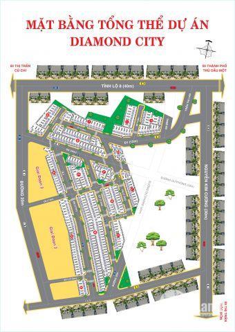 Đất nền ngay TTTM Center Mall, TP. HCM, giá chỉ 624tr/80m2, ngân hàng hỗ trợ 50%