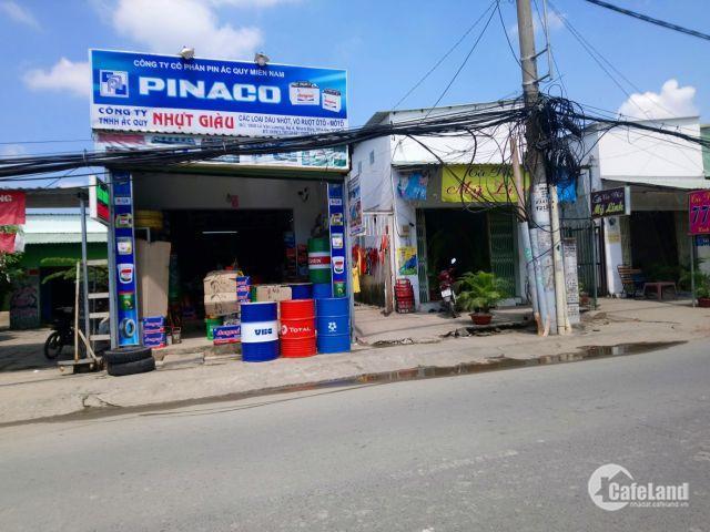 Tôi bán lô đất mặt tiền đường Lê Văn Lương_Nhà Bè DT: