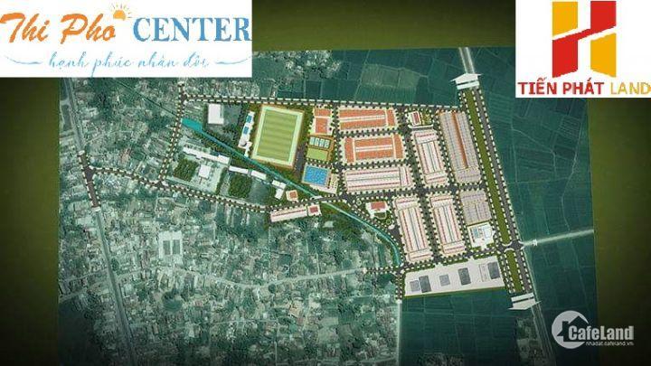Bán đất dự án KDC & dịch vụ Thi Phổ (Thi Phổ Center) Mộ Đức - Quảng Ngãi