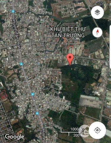 Bán lô đất khu Phú Thuận quận 7.