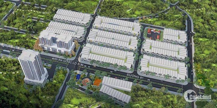 Đất nền MT Trường Chinh, Phú Mỹ, ngay Cảng Cái Mép , thổ cư 100%, GĐ1, CK 6%, LH: 0909444708