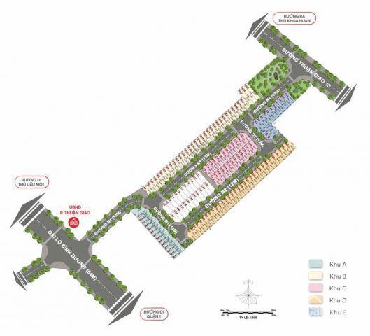 Đất Nền Mặt Tiền QL13 Giá 23tr/m2 Kế Bên UBND Phường Thuận Giao