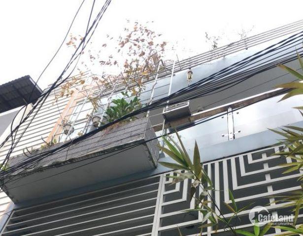Bán gấp nhà Nguyễn Văn Đậu phường 11 quận Bình Thạnh, 3 tầng, giá chỉ 4.6 tỷ