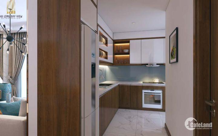 Bán căn hộ full nội thất tại Hạ Long, sổ đỏ chính chủ - 530 triệu