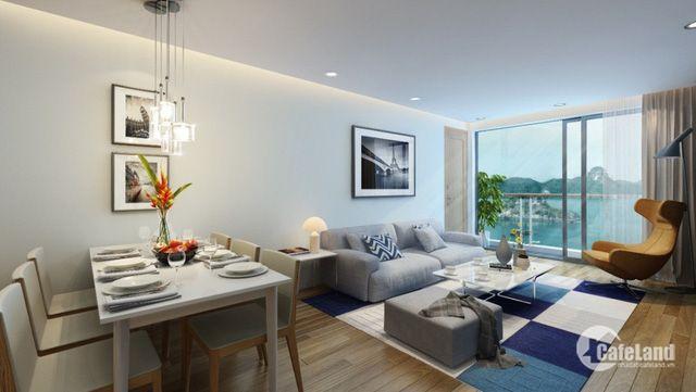 Bán căn hộ tại 2PN Hạ Long, đóng trước 650 triệu, full đồ, sổ đỏ chính chủ