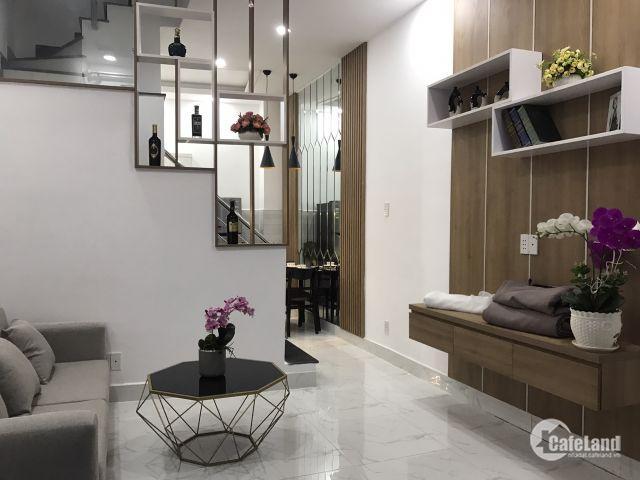 1 tỷ 580 sở hữu ngay nhà 1 trệt 2 lầu, 3 PN, 3 WC, cách mặt tiền Hà Huy Giáp 250m