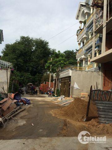 Bán nhà 1 trệt 3 lầu (5x20)m giá 4.65 tỷ, HXH đường Tân Thới Hiệp 21 , P .TTH, Q12.