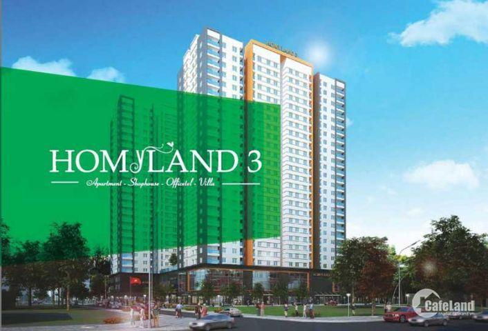 Mở bán đợt cuối CH Homyland 3, chuẩn bị bàn giao, thanh toán từng đợt
