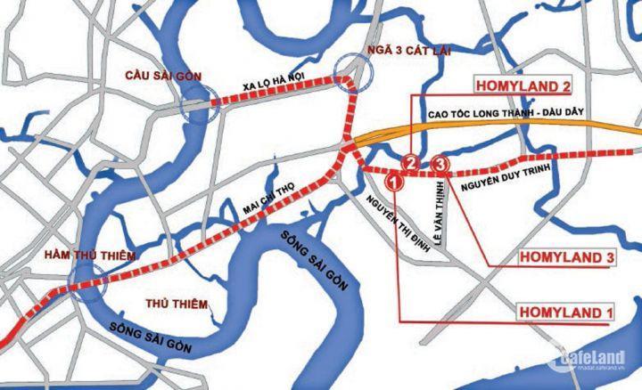 Căn hộ ngay mặt tiền đường Nguyễn Duy Trinh , Quận 2