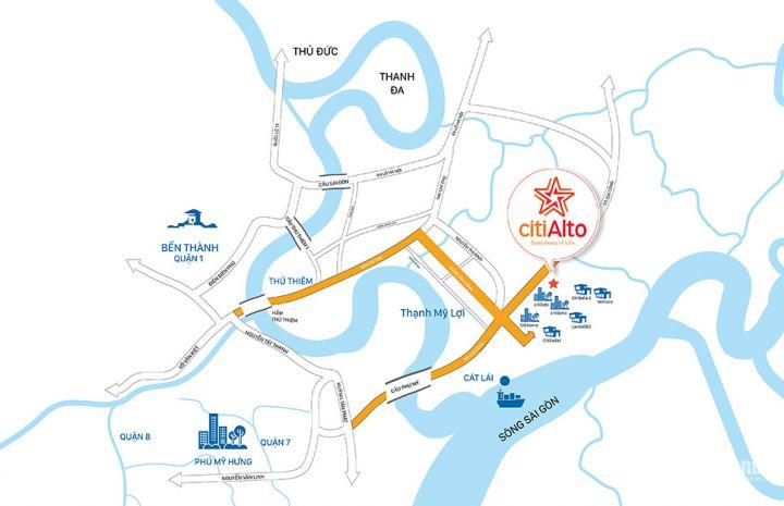 CitiAlto - ngôi nhà lý tưởng cho người trẻ tại quận 2