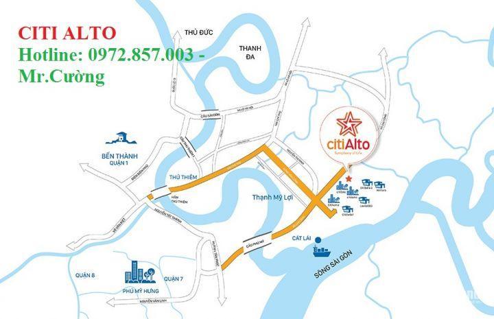 Citi Alto – CHCC liền kề kề Quận 1, Quận 7 chỉ từ 1.5 tỷ/căn + trả chậm 3 năm. LH: 0972857003