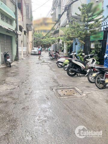 Bán gấp nhà 1 lững hẻm xe hơi 73 Khánh Hội quận 4.