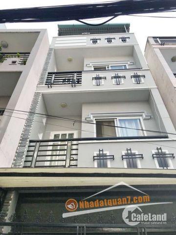 Cần bán nhà phố 2 lầu, ST hẻm 701 Trần Xuân Soạn, P. Tân Hưng, Quận 7