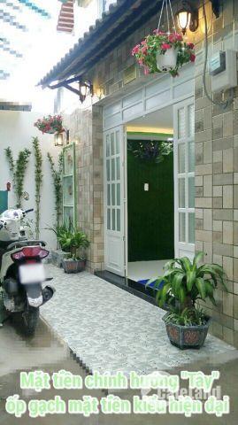Bán nhà 1 lầu mới đẹp hẻm 1135 Huỳnh Tấn Phát quận 7.
