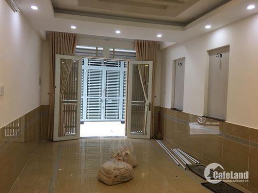 Bán nhà mới Phan Văn Trị quận Gò Vấp 34m2 giá 2,7 tỷ hẻm 4m.