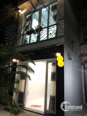 Bán nhà hẻm 24 Nguyễn Đình Chiểu, P3 Phú Nhuận.  Diện tích: 3,5 x 8m.   Kết cấu : 1 trệt 2 lầu sân thượng.  Nhà đẹp, thiết kế kiên cố,  Giá 4,4 tỷ