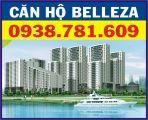 Cho Thuê căn hộ Belleza, DT: 105m2, nhà trống, view đẹp, giá: 8.5triệu/tháng. LH: 0938781609