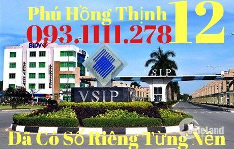 Phú Hồng Thịnh 12 và Phú Hồng Thịnh 11 TX Thuận An Đã Có Sổ