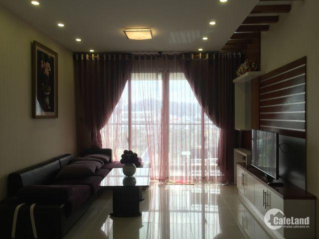 Cho thuê CH Vũng Tàu Plaza 91m2, đầy đủ đồ, view biển thoáng mát