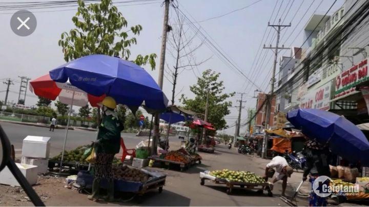 Đất chợ Gò Đen, 850tr/nền, cách chợ Bình Chánh 2km