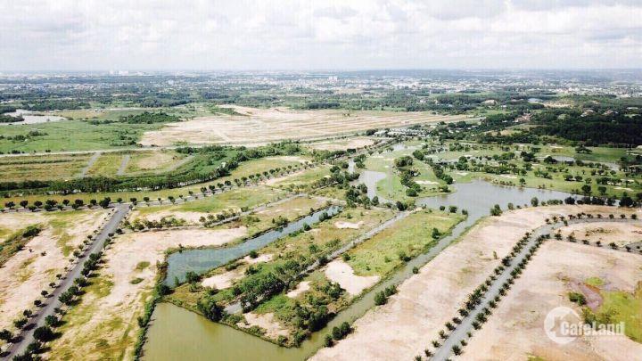 Biệt thự sân Golf Long Thành, chỉ 10 triệu/m2, SỔ ĐỎ, view sông, tiện ích đầy đủ, LH 0936207722