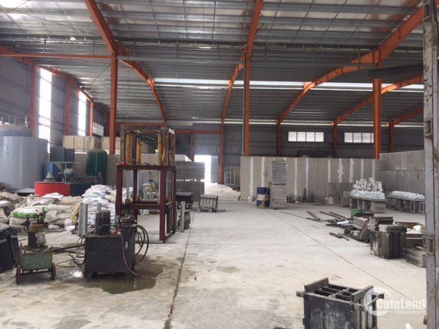 Bán nhà xưởng DT 2300m2 AN Khánh, Hoài Đức, Hà Nội.